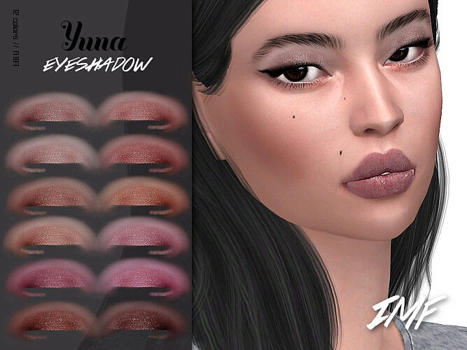 Imf Yuna Eyeshadow N.187 By Izziemcfire