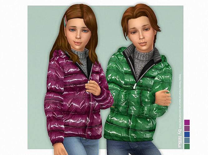 Shiny Jacket Kids By Lillka