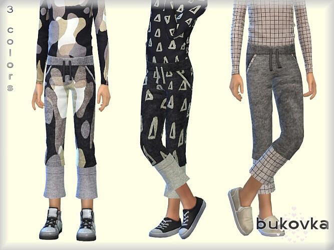 Pants Boy By Bukovka