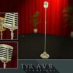 Vintage Microphone By Tyravb