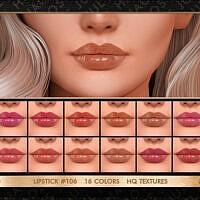 Lipstick #106 By Jul_haos