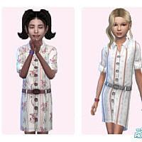 Spring Shirt Dress By Pinkfizzzzz