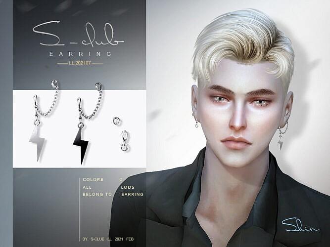 Earrings 202107 By S-club Ll