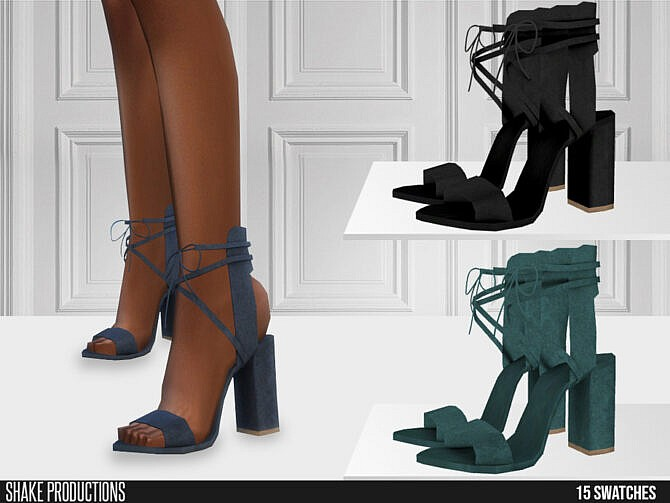 Sims 4 630 High Heels by ShakeProductions at TSR