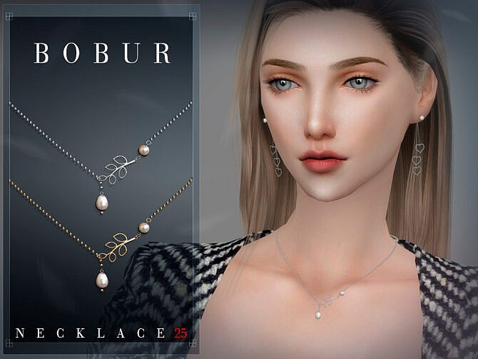 Sims 4 Necklace 25 by Bobur3 at TSR