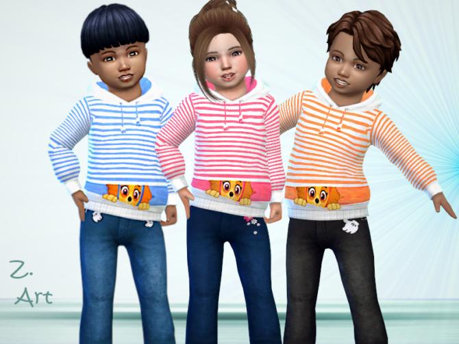 Sims 4 BabeZ 89 Hoodie by Zuckerschnute20 at TSR