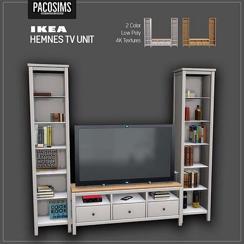 Hemnes Tv Unit (p)