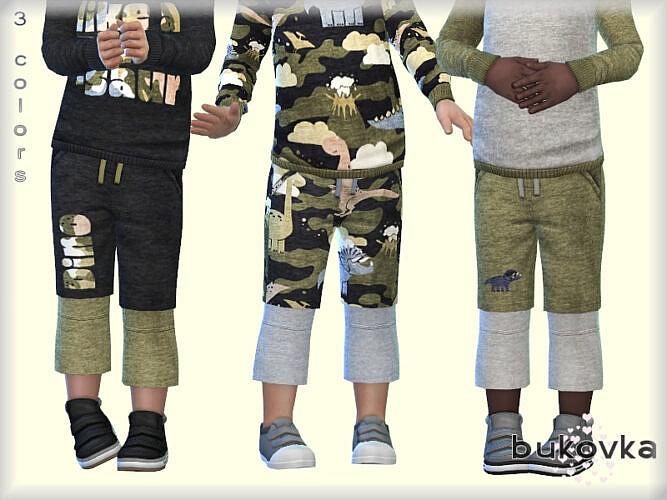 Dino Shorts By Bukovka