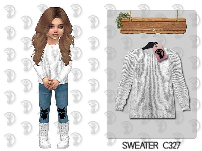 Sims 4 Sweater C327 by turksimmer at TSR