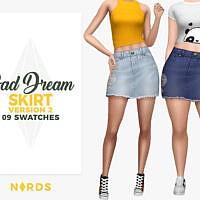 Bad Dream Skirt V2 By Nords