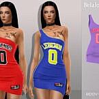 Reev Jersey Dress By Belal1997