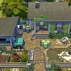 Shabby Abandoned Farmhouse By Flubs79