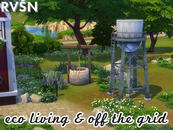 Sims 4 Alter Eco Utility Set by RAVASHEEN at TSR