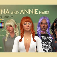 Anna Hair By Feralpoodles
