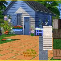 Up The Garden Path Floor & Wall Set By Seimar8