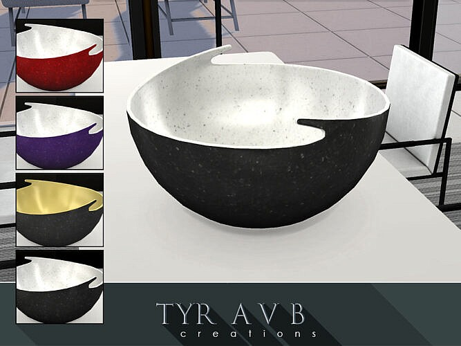 Big Deco Bowl By Tyravb