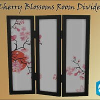 Mea_cherry Blossoms Room Divider By Oumamea