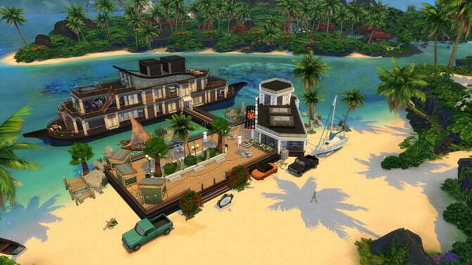 Sims 4 FAMILY YACHT & PORT 50x50 by bradybrad7 at TSR