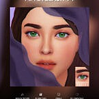 Eyelashes Maxis Match V1