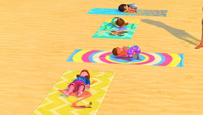 Toddlers Can Use Beach Towels By Sofmc9