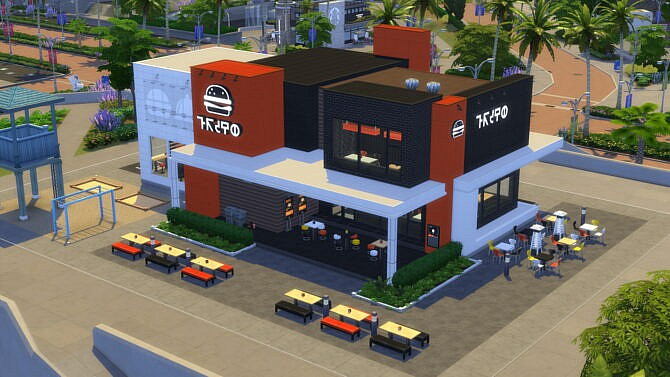 Sims 4 Greasy Goods Custom Stuff Pack by littledica at Mod The Sims 4