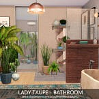 Lady Taupe Bathroom By Dasie2