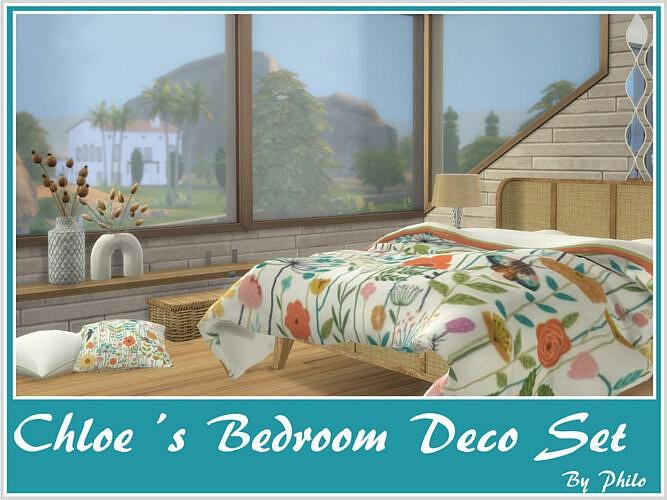 Chloe's Bedroom Deco Set By Philo