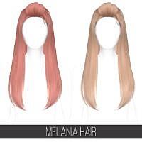 Melania Hair (mesh Edit)