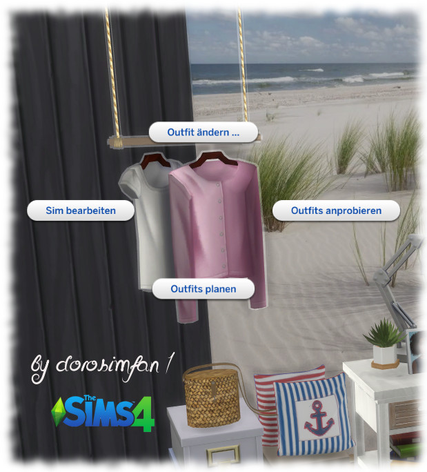Sims 4 Tiny Living Bedroom by dorosimfan1 at Sims Marktplatz