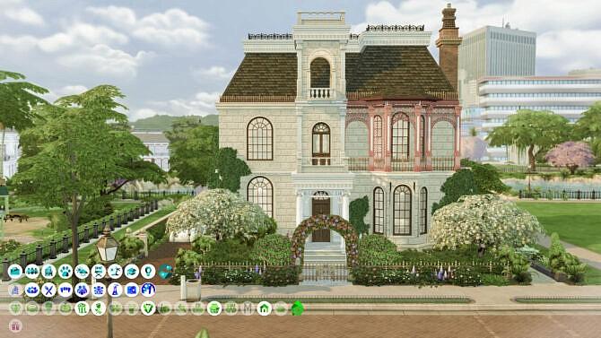 20s Sims 4 Villa