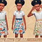 Spring Dress For Child