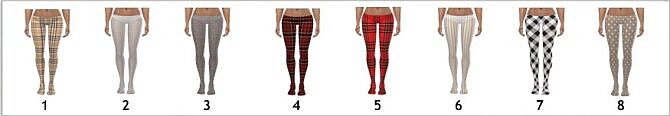 Sims 4 SP04 PATTERNED TIGHTS at Sims4Sue