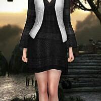 Dress With Vest