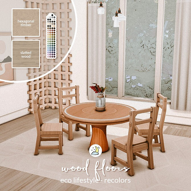 Sims 4 Eco Lifestyle Wood Floors at Luna Sims