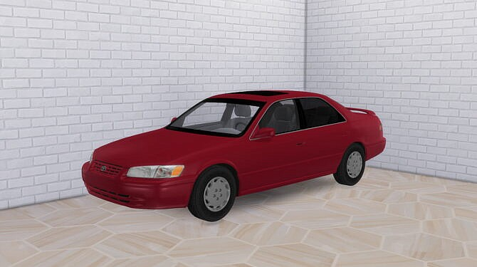 Sims 4 1997 Toyota Camry at Modern Crafter CC