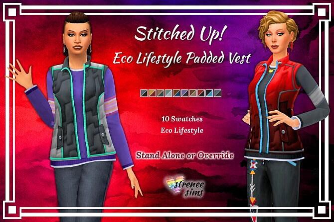 Stitched Up! Eco Lifestyle Vest