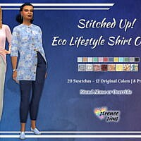 Stitched Up! Eco Lifestyle Shirt Outfit
