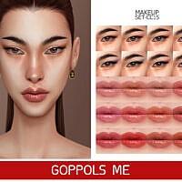 Foxy Eyes Makeup Gpme-gold Set Cc15