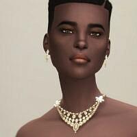 Set Ii: Necklace And Earrings