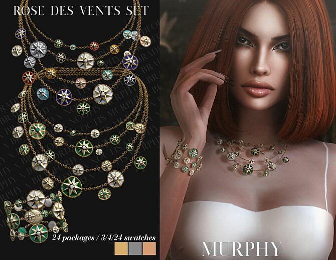 Sims 4 Rose des Vents Set at MURPHY