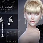 Butterfly Earrings 2021028 By S-club Ll