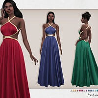 Feronia Dress By Sifix