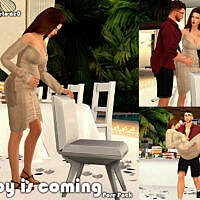 Baby Is Coming Pose Pack By Beto_ae0