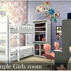 Simple Girls Room By Nobody1392