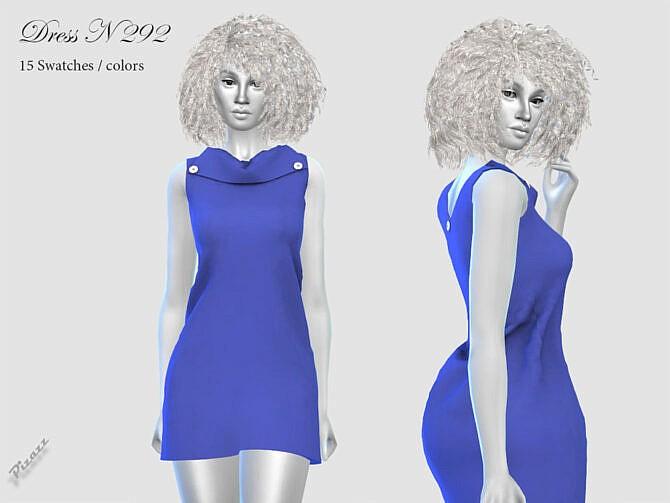 Sims 4 DRESS N 292 by pizazz at TSR
