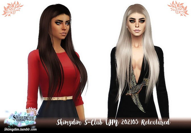 S-club Wm 202105 Hair Retexture