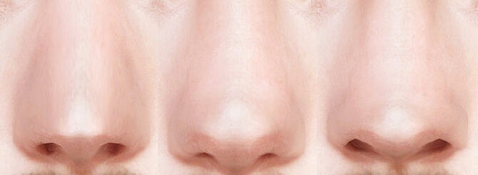 Sims 4 3 Male Nose Presets at Lutessa