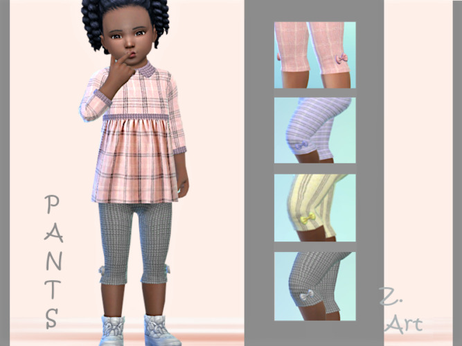3 Quarter Sims 4 Pants Babez 88