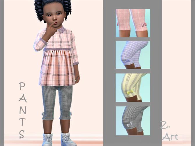 Sims 4 3 quarter pants BabeZ 88 by Zuckerschnute20 at TSR