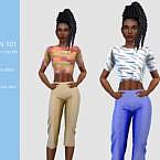 3 Quarter Sims 4 Pants N 101